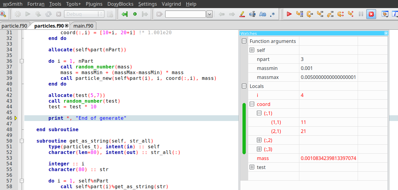 Code::Blocks IDE for Fortran | CBFortran